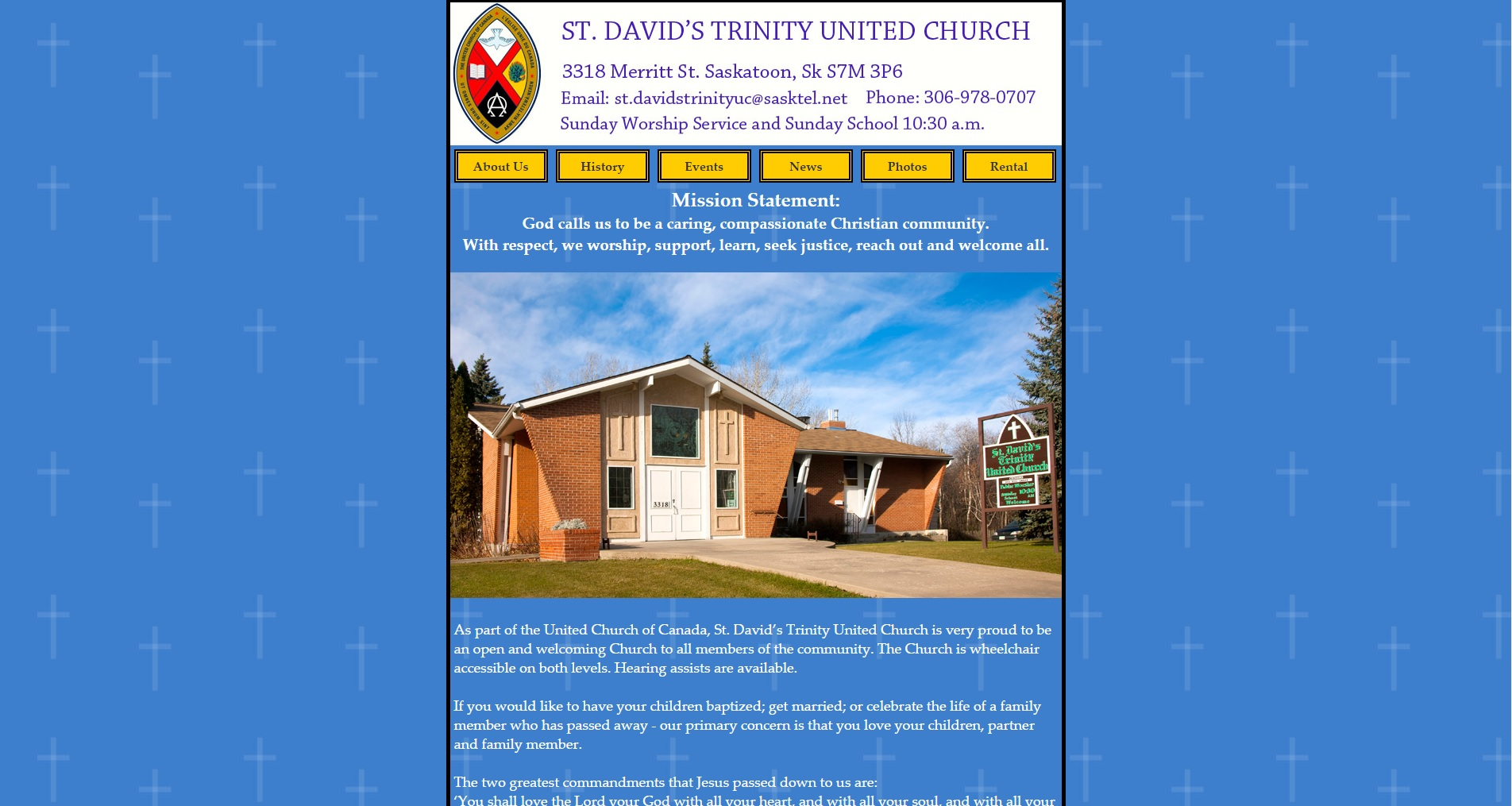 St. David's Trinity United Church Website