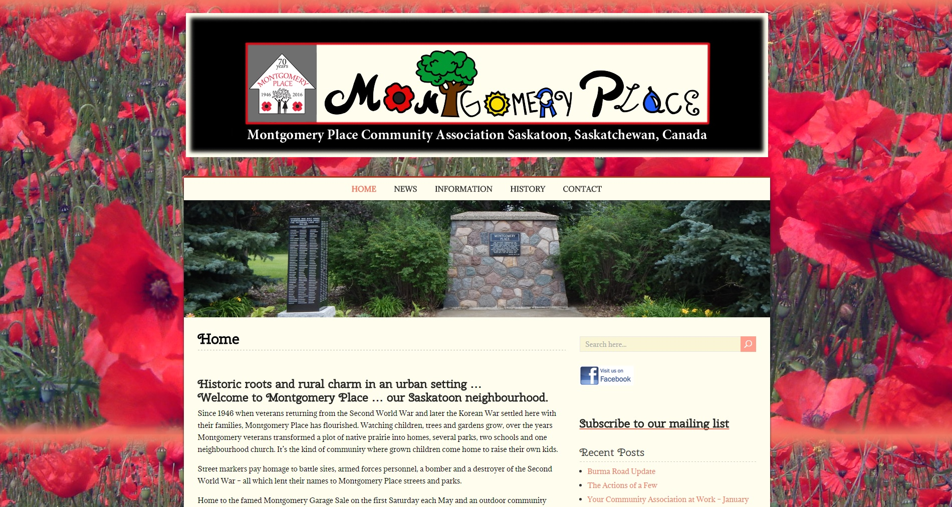 Montgomery Place Website
